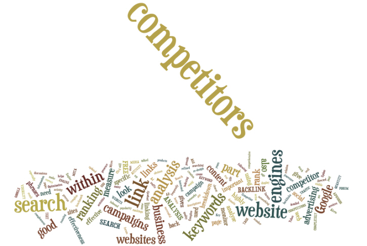 competitor web analysis by micro update based in devon